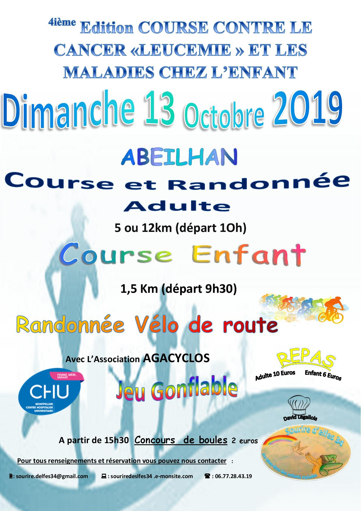 Course octobre 2019